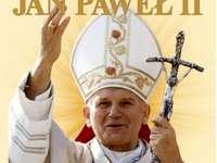 Papa Giovanni Paolo II - Giovanni Paolo II, il papa polacco. Papa Giovanni Paolo II con un cartello.