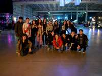 Mefunakim 2019 - Mefunakim at Tecnopolis Children's Day 2019. A group of people posing for the camera.