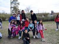 Guiborim 2019 - CHILDREN'S DAY IN TENOPOLIS. A group of people posing for the camera.