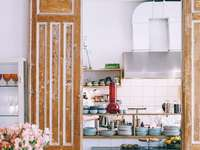 Cocina luminosa