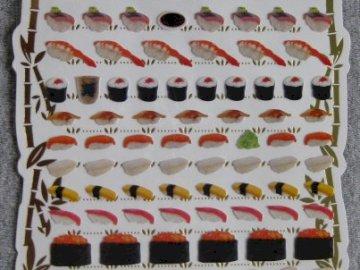 SUSHI - pegatinas - conjunto de pegatinas SUSHI.