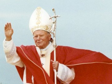 John Paul II puzzles - Puzzle with the image of John Paul II. Pope John Paul II wearing a red hat.
