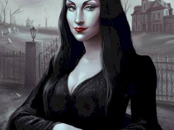 la joconde gotique - la joconde est un tableaux  tres celebre mais il existe d autre exemplaire originale. Une femme assi