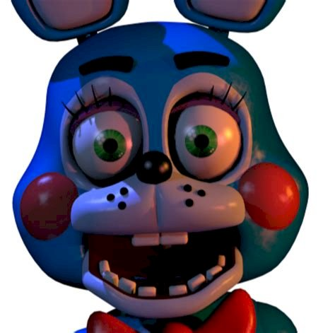 """FNaF2 Toy Bonnie 9x9 - Öt éjszaka Freddy 2 játékosa, """"Toy Bonnie"""" néven (9×9)"""