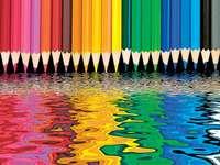 Barevné tužky -