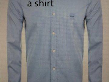 Questa è una maglietta - Risolvi il puzzle. Dopo averlo finito, leggi la parola nel puzzle. Un uomo che indossa giacca e crav