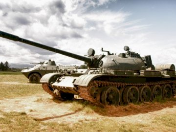 Armored tank - Tank - a tracked combat vehicle, designed to fight against enemy forces at short and medium distance