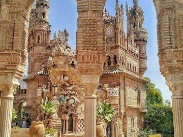 Castello di Benalmadena, Spagna - Castello di Benalmadena, Spagna. Castillo de Colomares è un monumento a forma di castello, dedicato