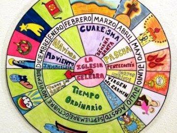 La Chiesa celebra - Calendario liturgico puzzle.