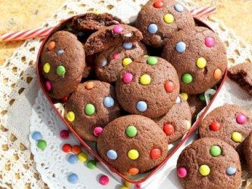 Galletas Arcoiris - Rainbow Cookies :) :) :). Una pelota negra y amarilla.