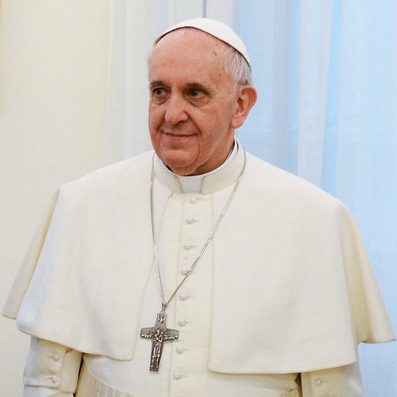Papa Francisc - Preot romano-catolic argentinian, iezuit, arhiepiscop mitropolitan al Buenos Aires și, prin urmare, Primatul Argentinei în anii 1998–2013, 266 papă și al 8-lea suveran al statului Vatican City d (5×4)