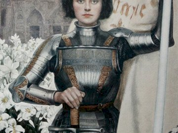 Joan of Arc (1903) - Joan of Arc by Albert Lynch (1903).