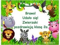 Zoo - classe 2a - Puzzle zoo pour la classe 2a.