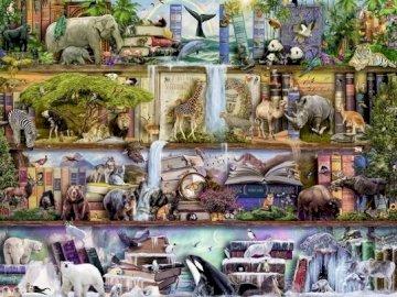 Animali. - Puzzle per bambini: animali.