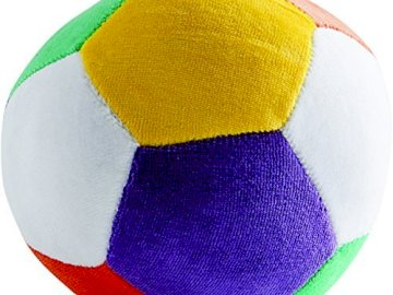 układanka - zabawa do nauki i cieszenia się grą. Kolorowa kula.