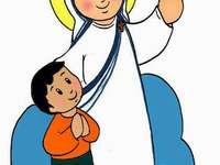 Rompecabezas de Santa Teresa di Calcuta