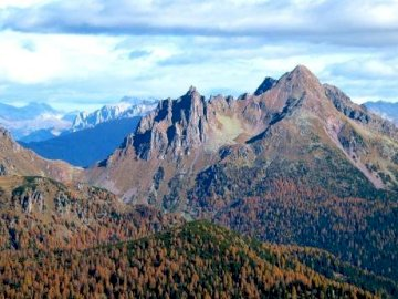 Cauriol of Caoria - Cauriol is a mountain near Caoria, it is almost always full of snow and it is nice to walk there. A