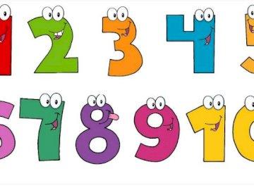 numéros un à dix - numéros de puzzle un à dix.