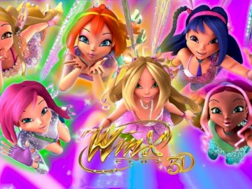 the winx 3 D - comes to the world of winx. winx enemies are not welcome.