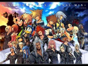 Sfondo di Kingdom Hearts Final Mix - Wallpaper Kingdom Hearts Puzzle.