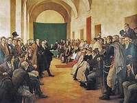 Mai Revoluție - Dezbatere în Cabildo