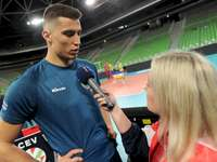 Klemen Čebulj - Klemen Čebulj - Representative of Slovenia in volleyball.