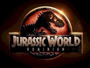 Jurassic World: Dominion - Jurassic World: logotipo de Dominion. A cerca de un signo.