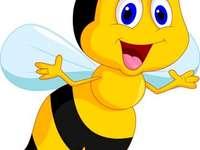 Puzzle d'abeille