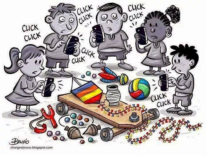 Children and social networks