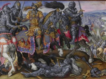 The Capture of Francis I, Battle of Pavia, 1525 - The Capture of Francis I, Battle of Pavia, 1525.