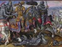 Η Σύλληψη του Φραγκίσκου Α, Μάχη της Παβίας, 1525