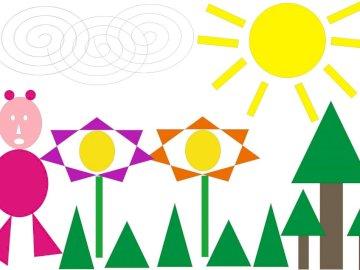 Composition triangulaire - Activité interactive.