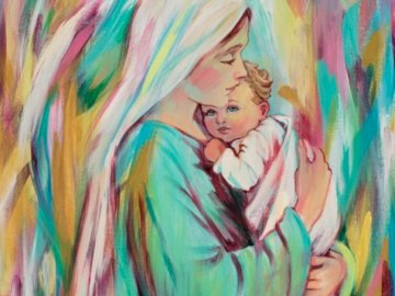 Reflexes of mary - This puzzle has been created with love and behind it is a quality of the best, our beloved mommy tha