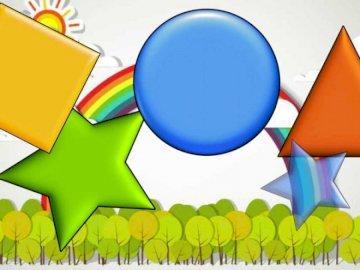 puzzle de formes - jeu de formes de puzzle pour les enfants.