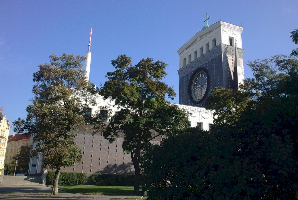 templom Prágában kirakós