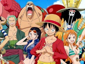 Straw Hats One Piece - Straw Hat crew from One Piece.
