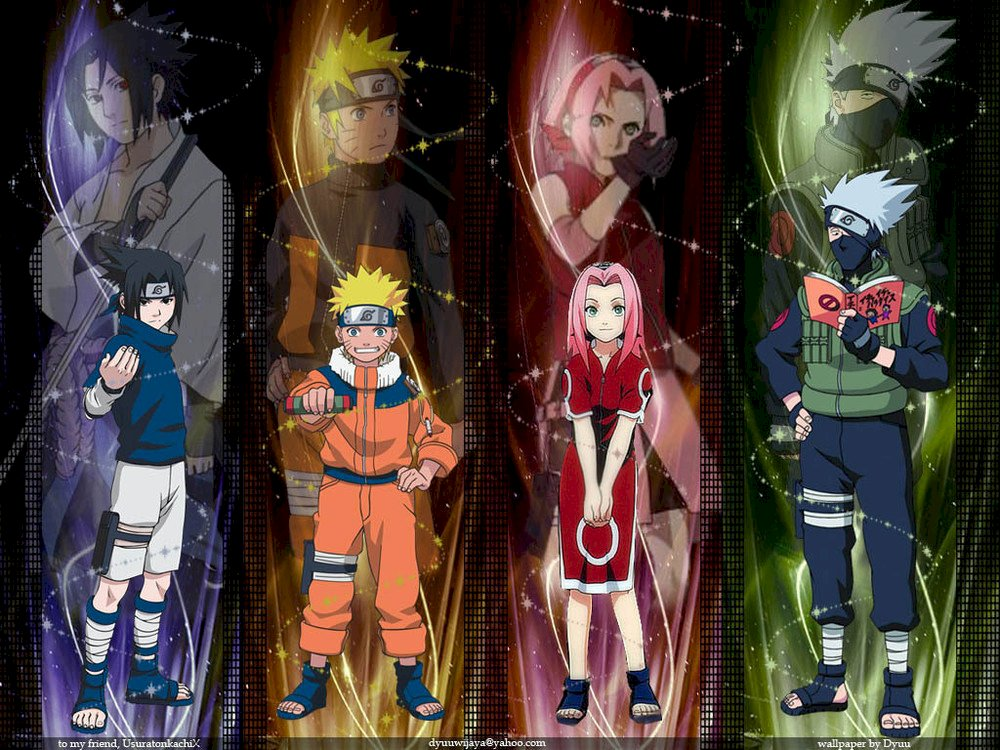 Naruto Team 7 Play Jigsaw Puzzle For Free At Puzzle Factory