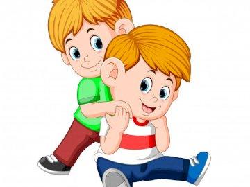 młodszy brat chce - Potrzebuje i chce aktywności. A bliska zabawki.