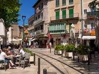 Mallorca-centrum av Soller