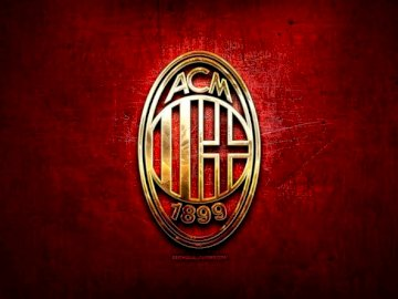 Milan (the best) - AC Milan has always been the (in my opinion) best team in the world. A close up of a sign.