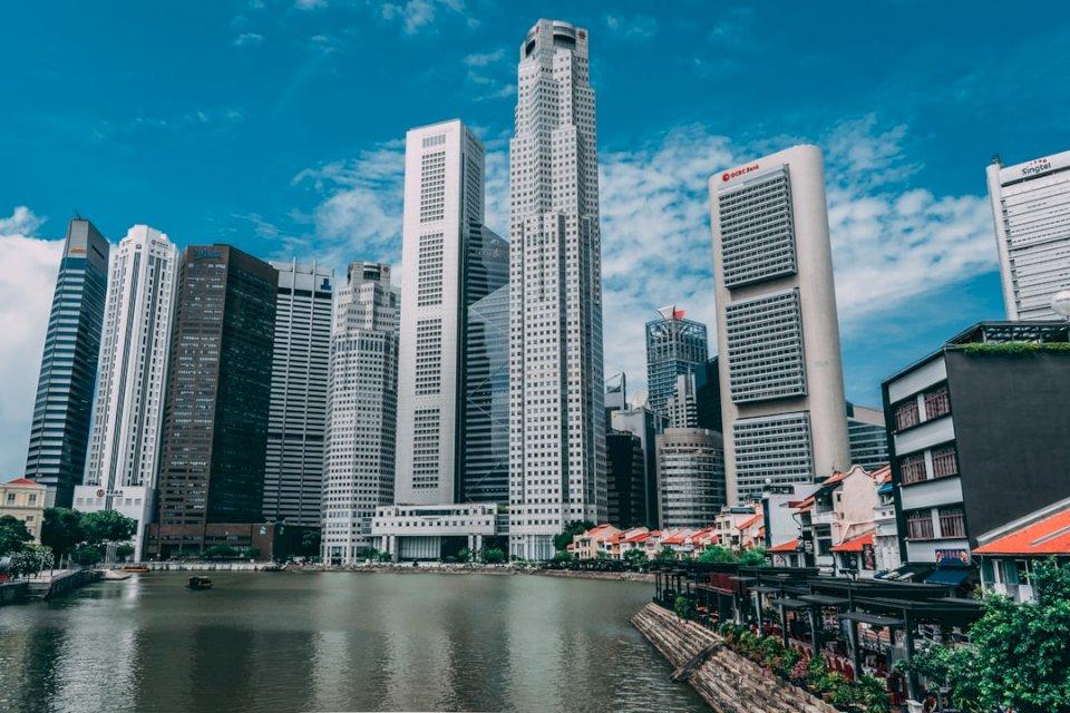 Singapore in riva al fiume