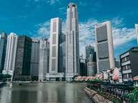 Szingapúr a folyó mellett