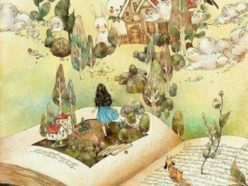 Biblioterapia10 - Obraz z książką w tytule.