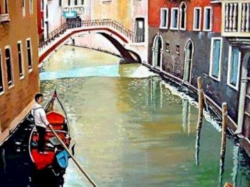 Pintura del Canal - Pintura del Canal de Venecia.