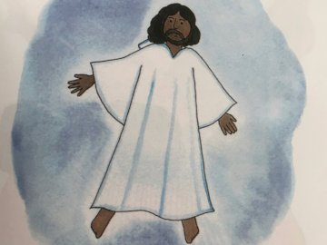wzniesienie się - Jezus wstąpił do nieba.