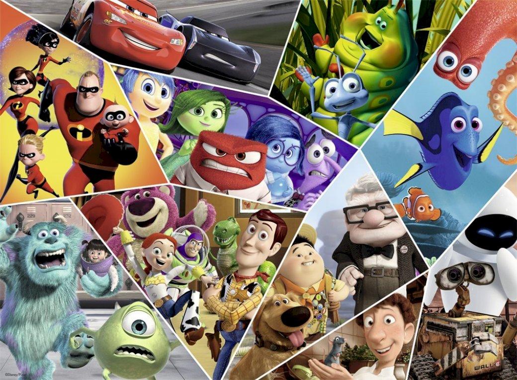 Eroii Pixar - eroi de pixeli preferați (5×4)