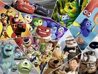 Pixar Heroes - ulubieni bohaterowie Pixar.