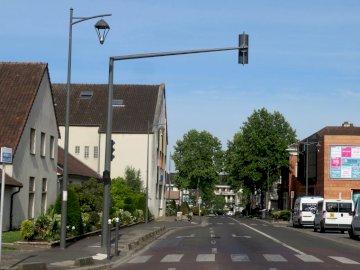 Chennevières sur Marne - Descoperiți orașul nostru. Un semafor pe o stradă a orașului.