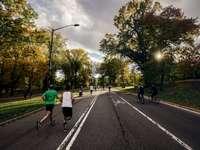 Courir à Central Park