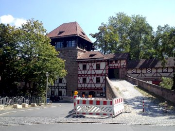 in Nürnberg - interessantes Gebäude in Nürnberg.